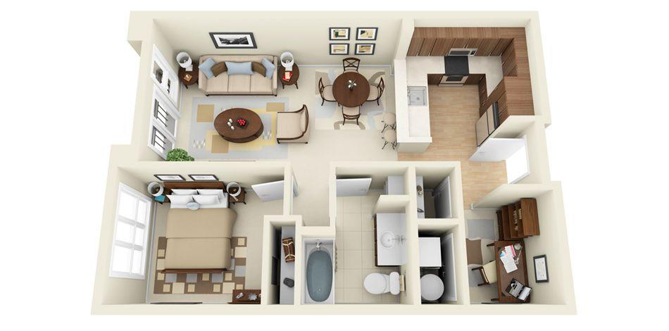 أروع تصاميم ومخططات للمنازل ثلاثية الأبعاد