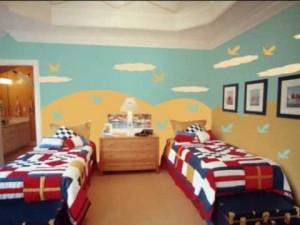 دهانات غرف نوم اطفال 8