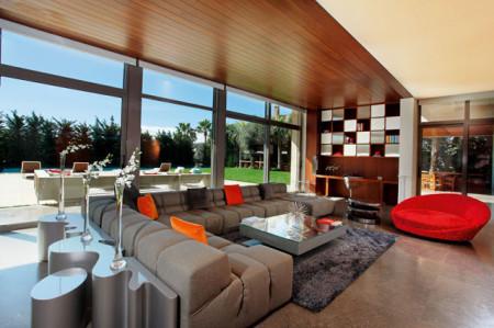 ديكورات غرف معيشة 2014 جديدة