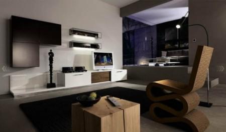 غرف معيشة جديدة