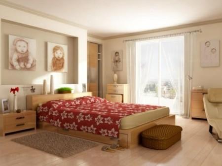 الوان دهانات وبويات لغرف النوم