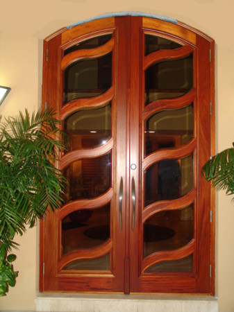 صور أبواب خشب