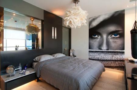 غرف نوم مختلفة