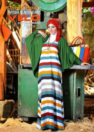 احدث ملابس محجبات 2014