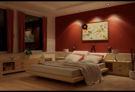 اشكال حوائط غرف نوم