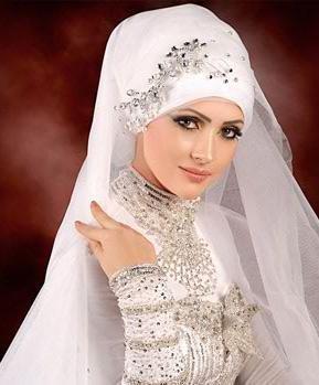 اجدد وأجمل لفات طرح لأجمل العرايس
