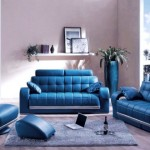 احلي غرف معيشة باللون الازرق