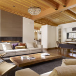 غرف معيشة باللون البني