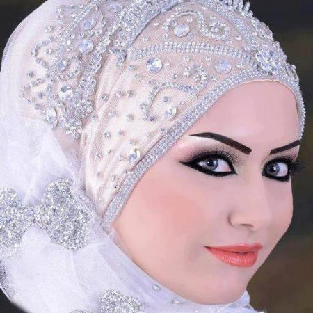 لفات طرح عرايس محجبات3