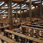 مكتبة اسكندريه من الداخل
