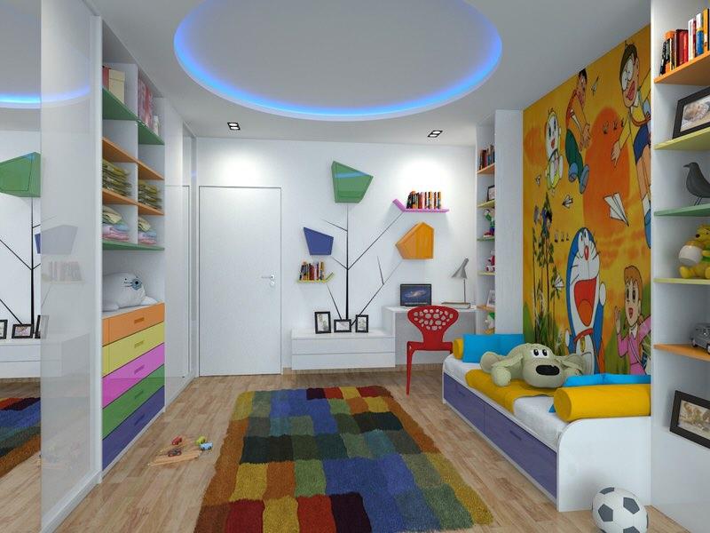 غرف للأطفال (4)