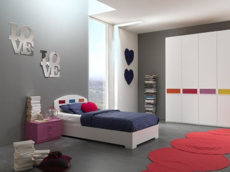غرف نوم اطفال دور واحد (2)