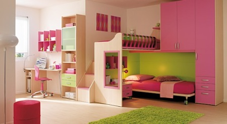 : دهانات وديكورات غرف اطفال : اطفال