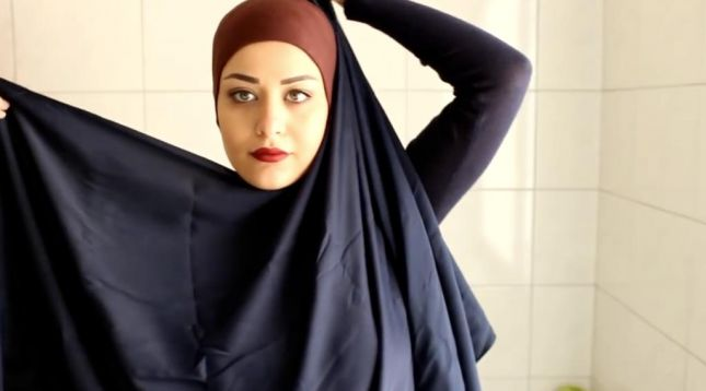 لفات طرح محجبات بالخطوات مصورة (6)
