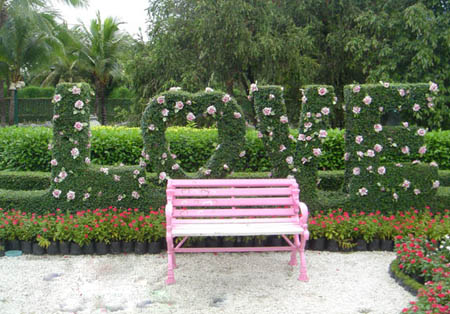 حدائق منزلية بسيطة