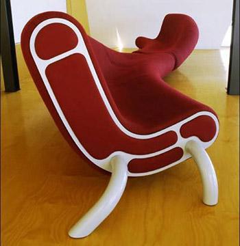 كرسي شكل جديد