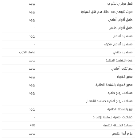 مواصفات جيب رانجلر5