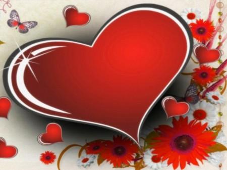قلب رومانسي صور
