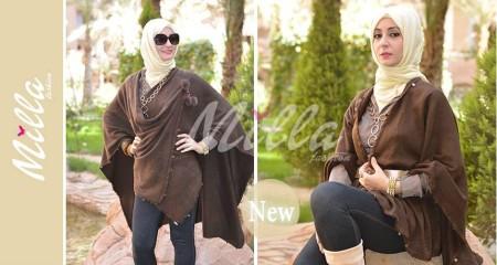 ملابس محجبات 2015 للشتاء (2)