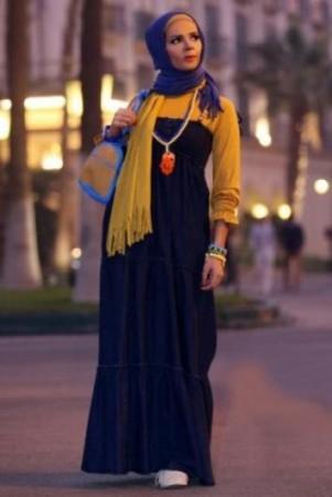 ملابس محجبات2015