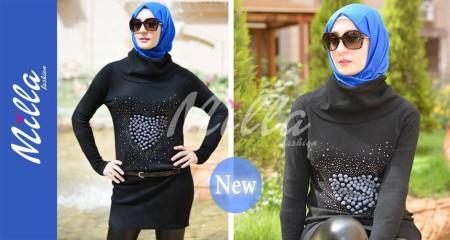 ملابس ميلا فاشون للمحجبات شتاء 2015