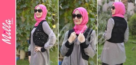 ملابس ميلا فاشون للمحجبات شتاء 2015 (6)