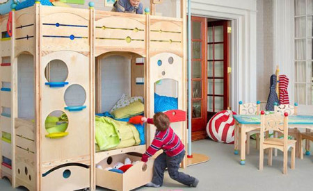 اجمل غرف نوم اطفال (2)