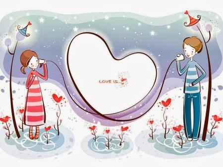 بطاقات تهنئة بعيد الحب
