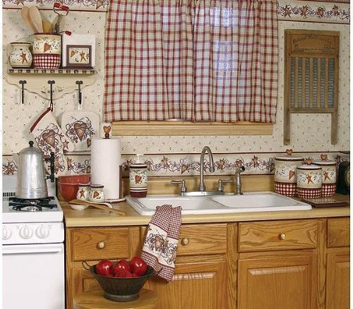 : موديلات ستائر المطبخ 2016 : ستائر
