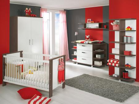 غرف نوم اطفال احمر