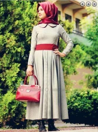 احدث ملابس محجبات (2)
