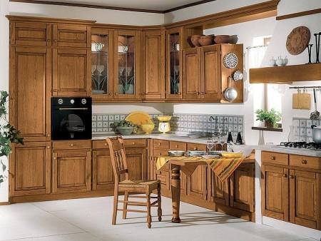 صور مطابخ خشبية حديثة مودرن بتصميمات فخمة (1)