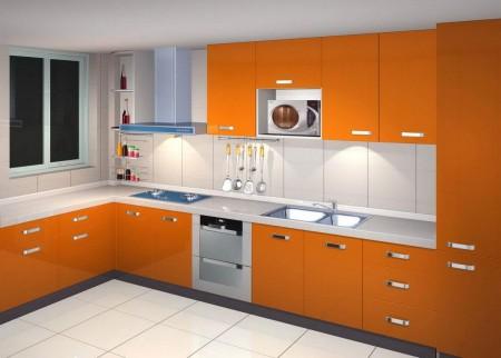 مطابخ الوميتال برتقالي