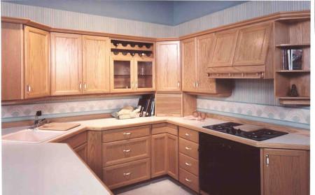 مطابخ خشب فخمة (1)