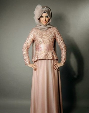 احدث موضة لفساتين المحجبات (1)