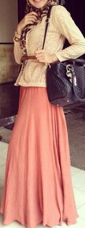 احدث موضة لفساتين المحجبات (2)