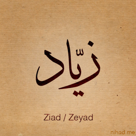 تصميمات اسم زياد (2)
