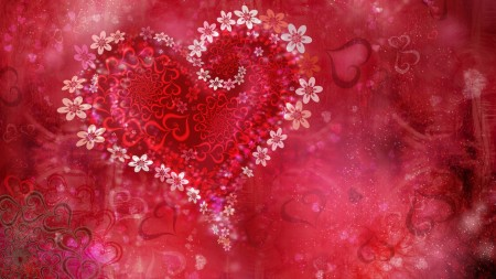 صور خلفيات قلوب (4)