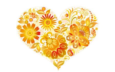 قلوب اصفر