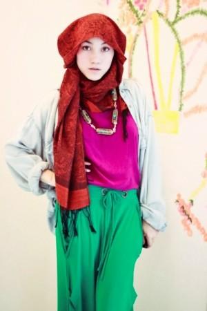 ملابس محجبات فساتين شيك وانيقة (4)