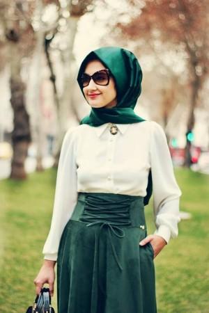 ملابس محجبات موضة صيف 2015 (2)