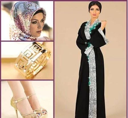 ملابس محجبات موضة2015 (1)