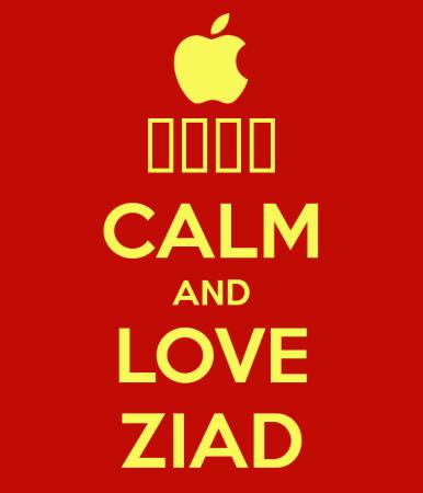 calm love ziad