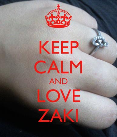 keep calm and love zaki (4)