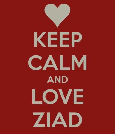 keep calm and love ziad (1)