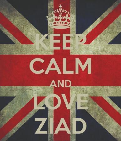 keep calm and love ziad (6)