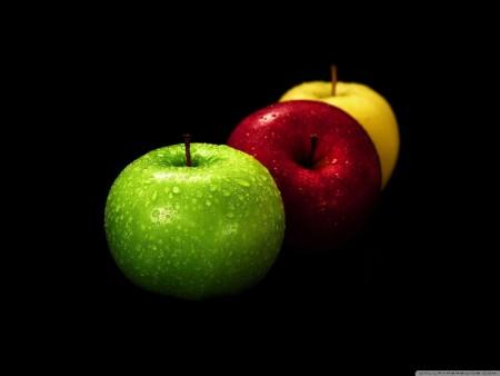 صور تفاح اخضر واحمر (1)