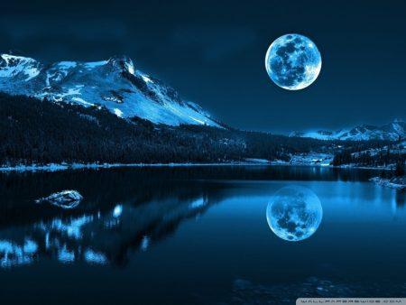 صور غروب القمر (1)