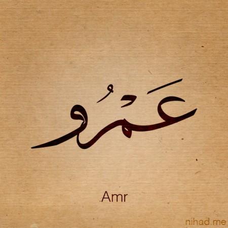 صور مكتوب عليها عمرو (2)