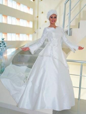 فساتين اعراس للمحجبات (1)